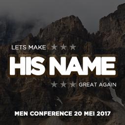 Afbeelding - Aankondiging Men Conference